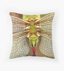 Wing Detail Throw Pillow