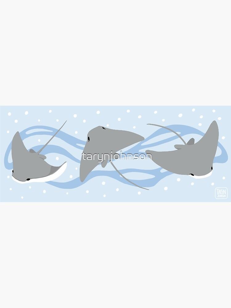 Stingrays - Cownose Ray - Sticker Pack by tarynjohnson