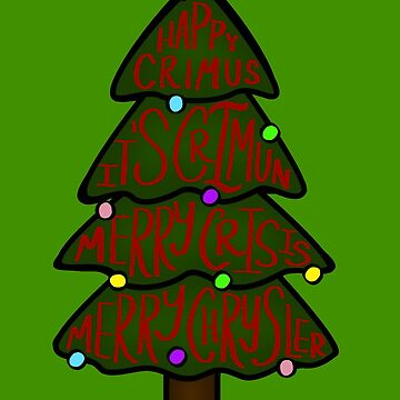 Merry Chrysler by Stickers-By-Sam