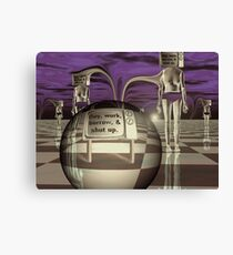 Automatons  Canvas Print
