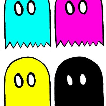 Ghosts CMYK by jmojoe