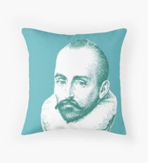 Michel de Montaigne Throw Pillow