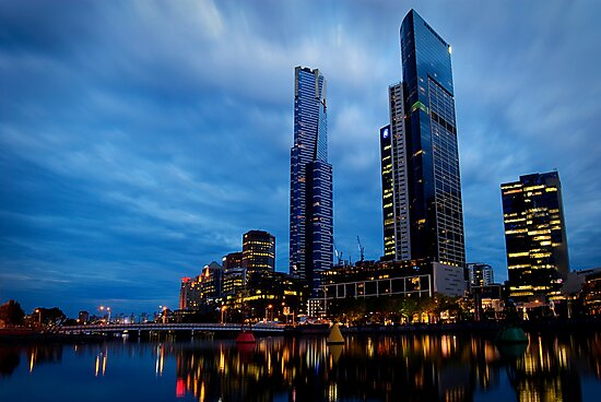 Southbank Twilight by Anthony and Kelly Rae
