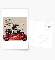 Grease Lightning! Postcards