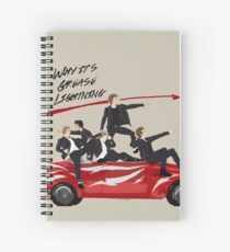 Grease Lightning! Spiral Notebook