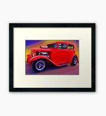 Crimson Classic Framed Print