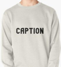 caption Pullover