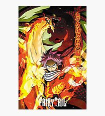 Fairy tail poster Photographic Print