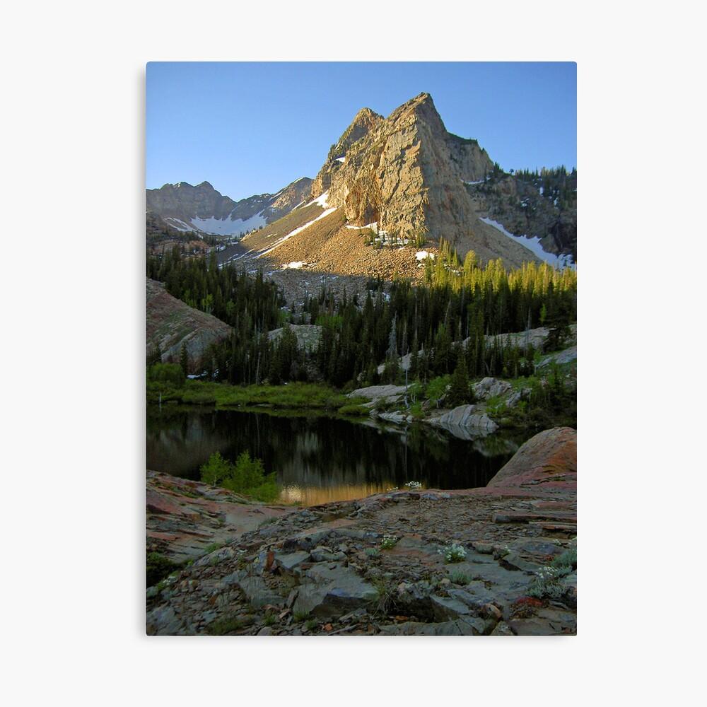 2004:06:22  07:52:15  Sundial Peak Canvas Print