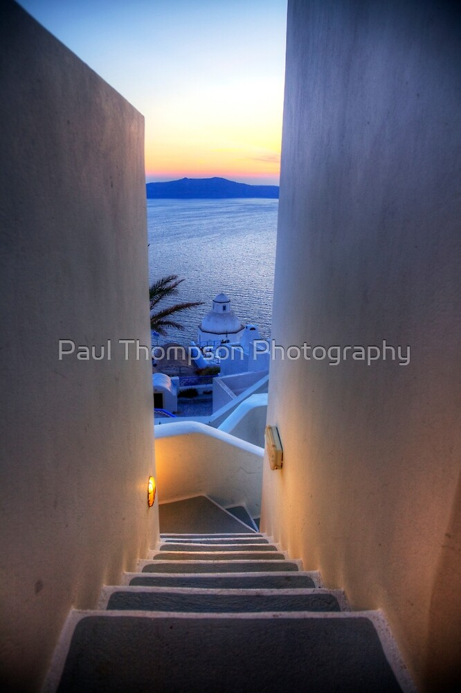 Steps To The Caldera by Paul Thompson Photography
