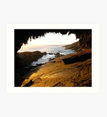 Admirals Arch, Kangaroo Island Art Print