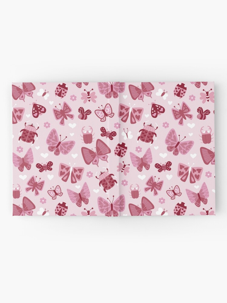 Alternate view of Love Bugs in Pink + Red Hardcover Journal