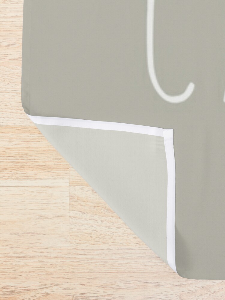 Alternate view of Caturdays - Black Cat Shower Curtain