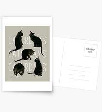 Caturdays - Black Cat Postcards