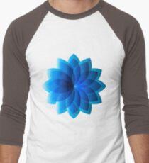 Abstract Digital Star Men's Baseball ¾ T-Shirt