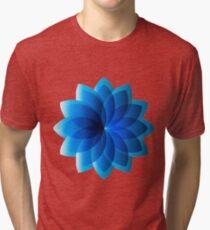 Abstract Digital Star Tri-blend T-Shirt