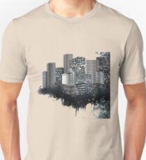 Abstract Digital Urban Setting Unisex T-Shirt