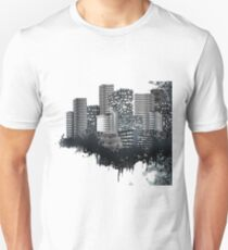 Abstract Digital Urban Setting T-Shirt