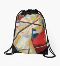 Construction de la couleur Alexandra Exter Drawstring Bag