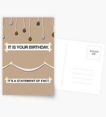 Das Büro - es ist deine Geburtstagskarte Postkarten
