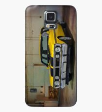 Yellow XY Ford Falcon GT Case/Skin for Samsung Galaxy