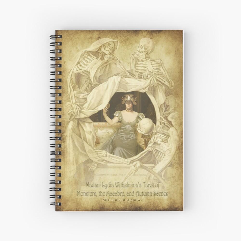 The Trinity Masquerade Spiral Notebook