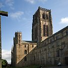 Durham Cathedral and The Cross by Ray Clarke