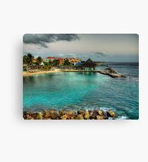 Avila Beach - Curacao Canvas Print