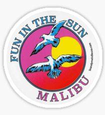 BRANDY MELVILLE FUN IN THE SUN MALIBU STICKER Sticker