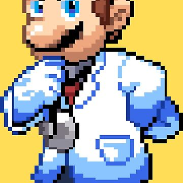 Dr. Mario by MisterPixel