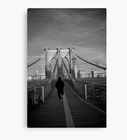 Escape from Brooklyn Canvas Print