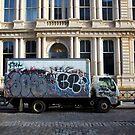 Art vs Vandal, Tribecca New York City by Gayan Benedict
