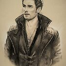 Killian Jones by Sarah  Mac Illustration