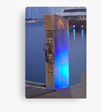 Waterfront Blues Metal Print