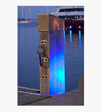 Waterfront Blues Photographic Print