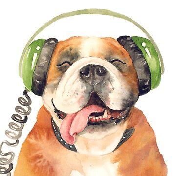 Jeremiah Was a Bulldog by Artsez