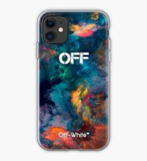 Galaxy Smoke Color Off White iPhone Case