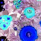 """Abstract Flowers featured in """"The World as we see it or missed it"""" & """"A fascinating purple"""" by ©The Creative  Minds"""