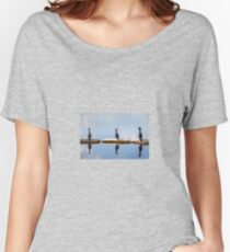 Three's a Crowd - Cormorants Women's Relaxed Fit T-Shirt