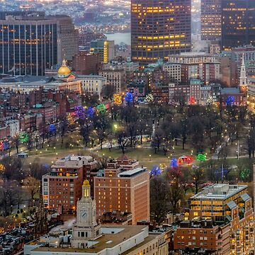 Boston Common in December by mattmacpherson