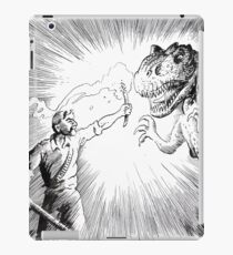 The Lost World, an Allosaurus comes close to camp. iPad Case/Skin