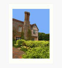 Pashley Manor Art Print