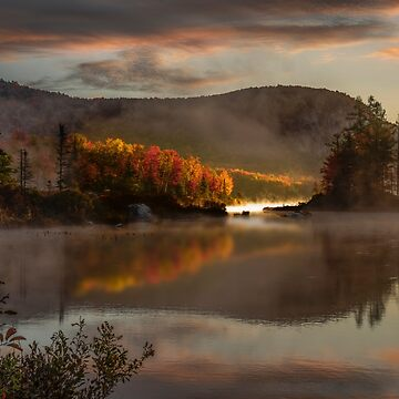 Morning Mist in Groton, Vermont by mattmacpherson