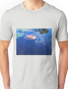 Mt Coot-tha Botanical Gardens Pond with Tortoise. Unisex T-Shirt