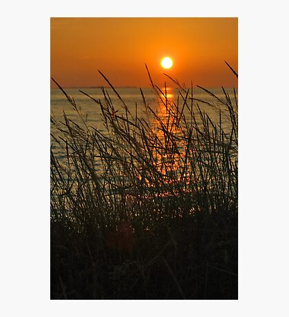 Setting Sun Photographic Print
