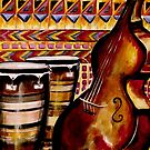 Bass and Conga by Julie Ann Accornero