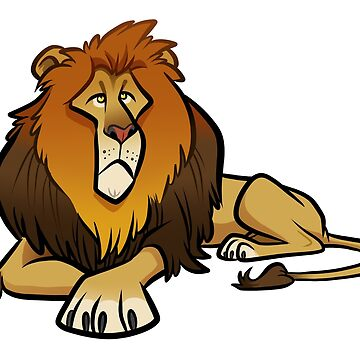 Lion Caricature by binarygod