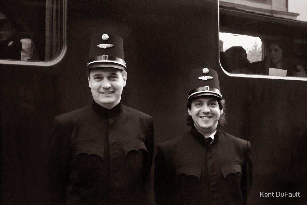 Train Conductors - Austria by Kent DuFault