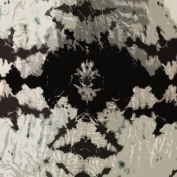 black and white tie dye by MadmyrtleDesign