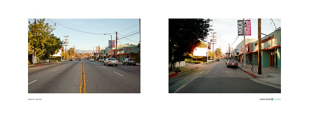 Hyperion Ave + Tracy Street, Los Angeles, California, USA...narrowed. by David Yoon